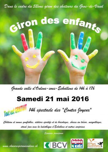 Girons des enfants @ Oulens-sous-Echallens | Vaud | Suisse