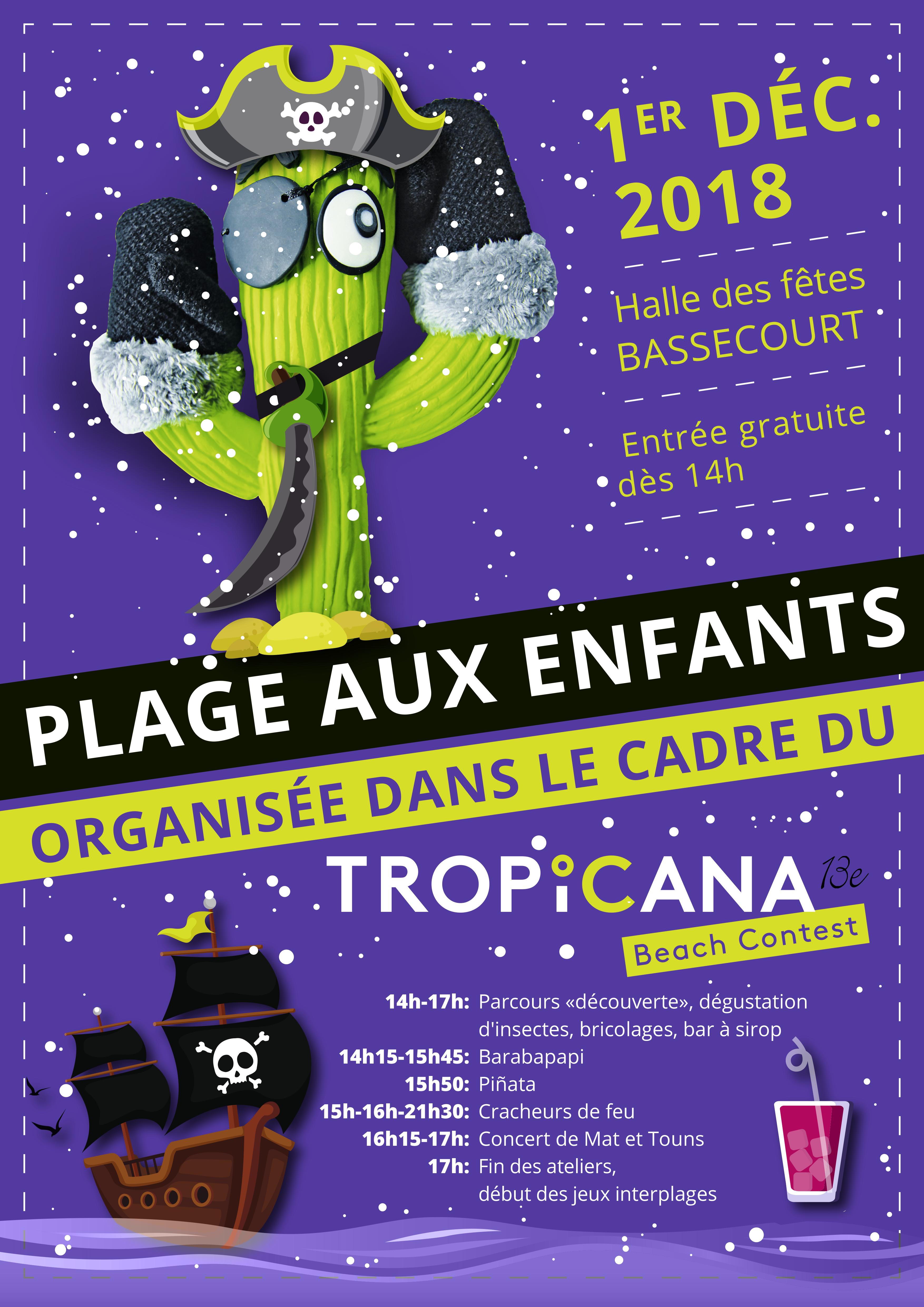 Plage aux enfants, Bassecourt @ halle des fêtes | Bassecourt | Jura | Suisse